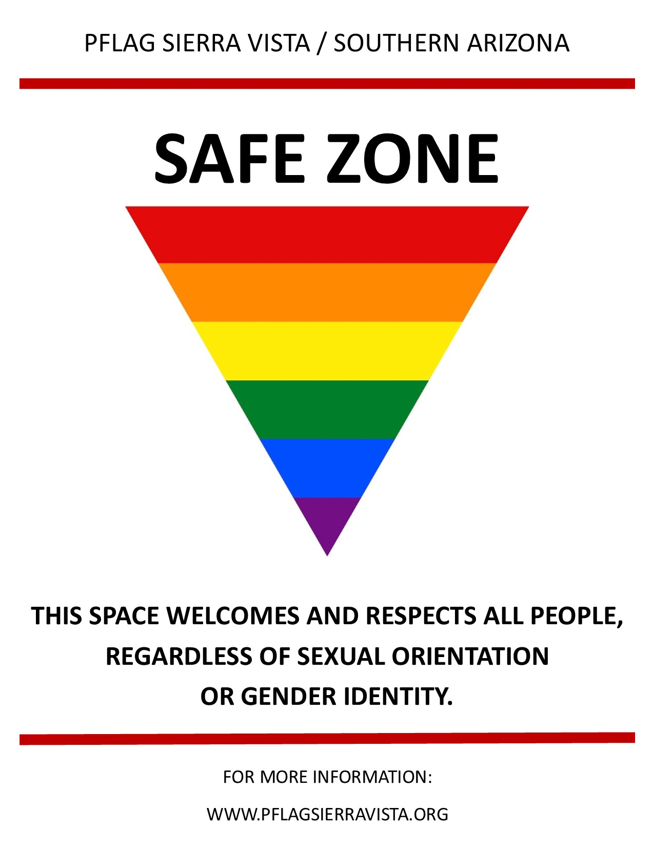 Safe Zones are places where diversity is celebrated!